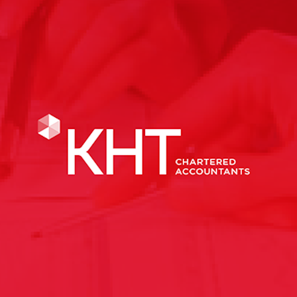 red accounting logo
