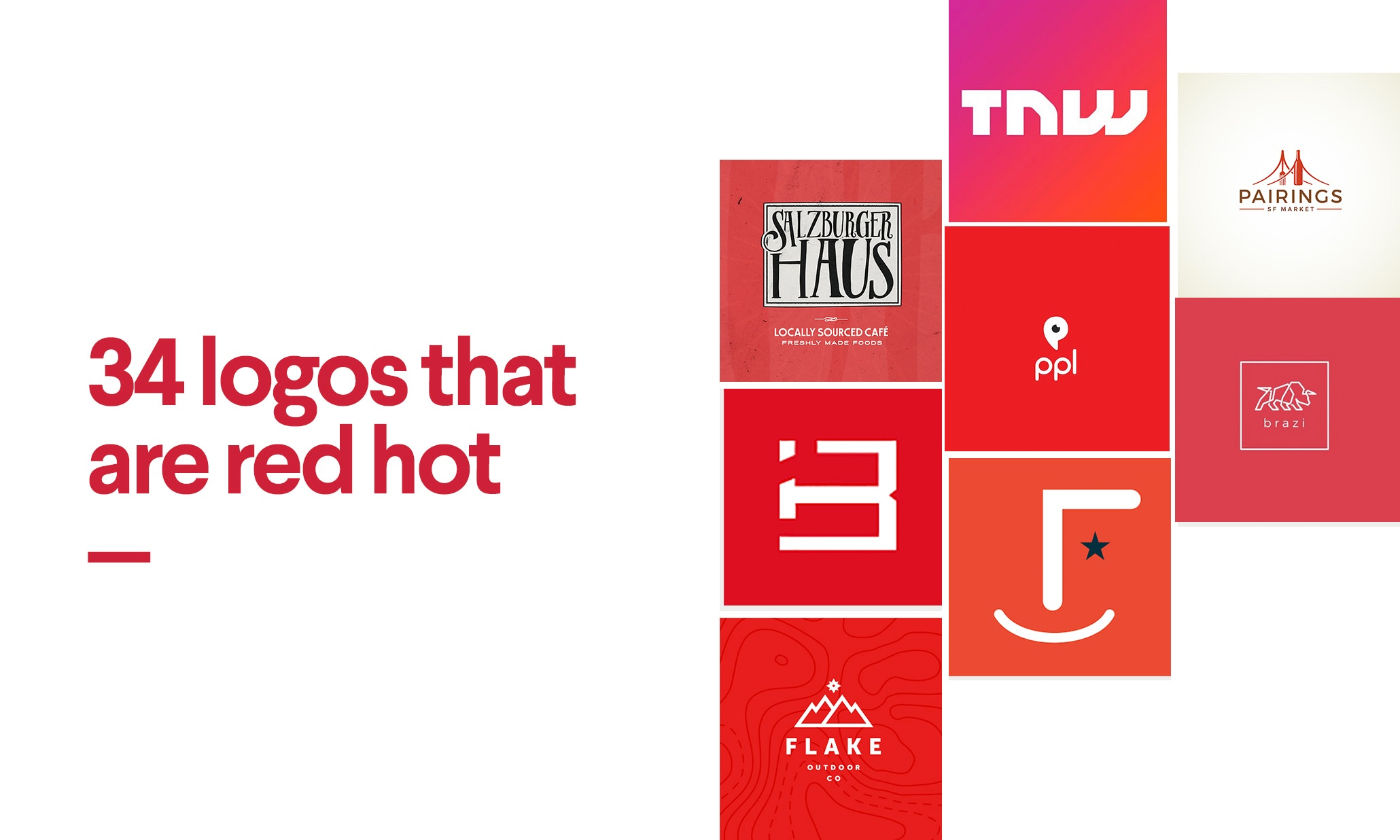 red logos what the fiery color can say about your brand34 red logos that are red hot