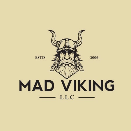 Mad Viking real estate logo