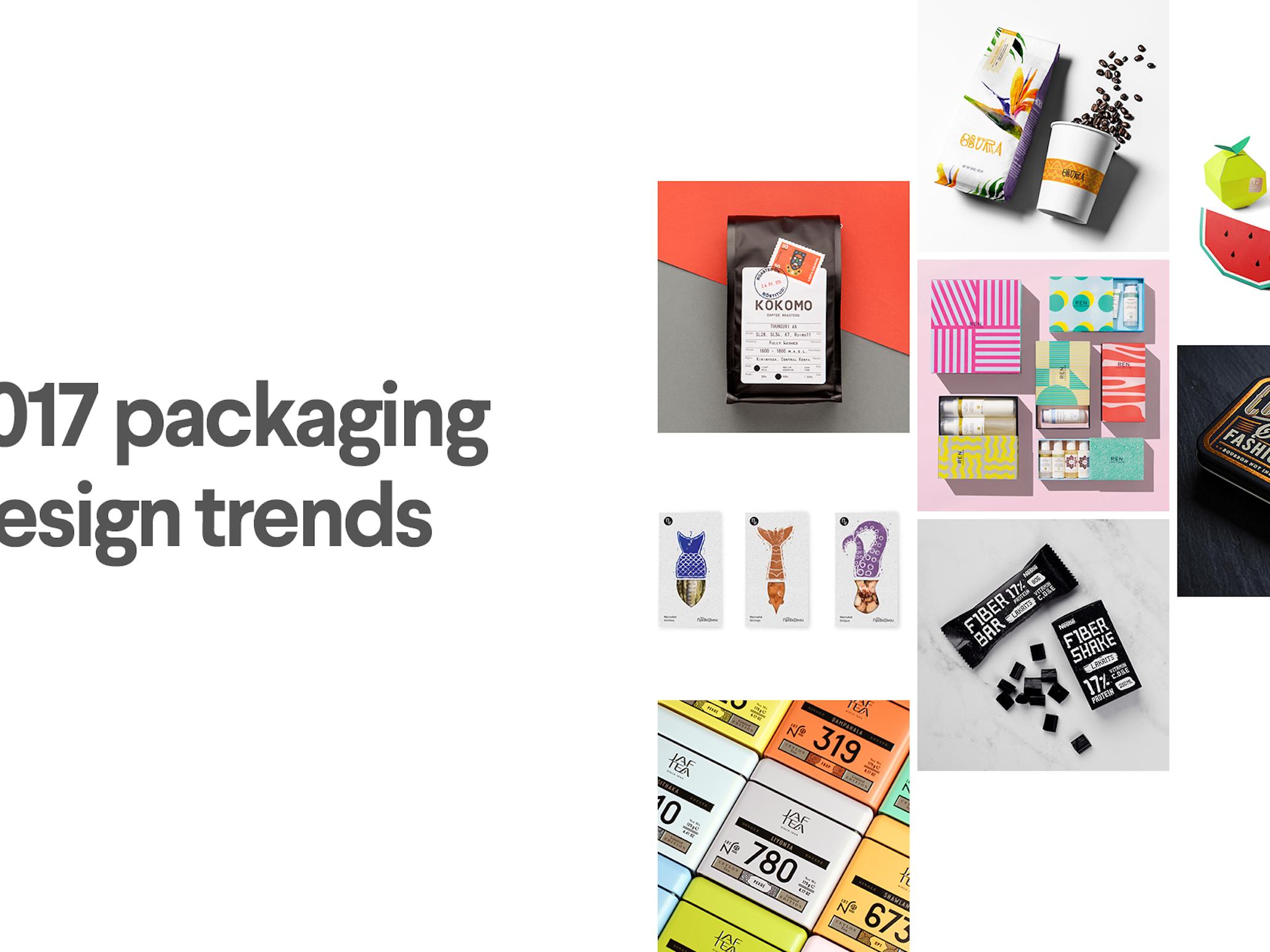9 Inspirational Packaging Design Trends For 2017 99designs