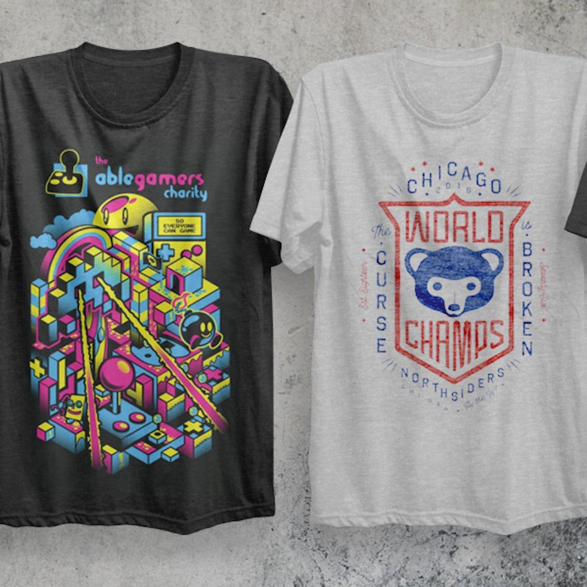 5eabcd244af8 50 t-shirt design ideas that won t wear out - 99designs