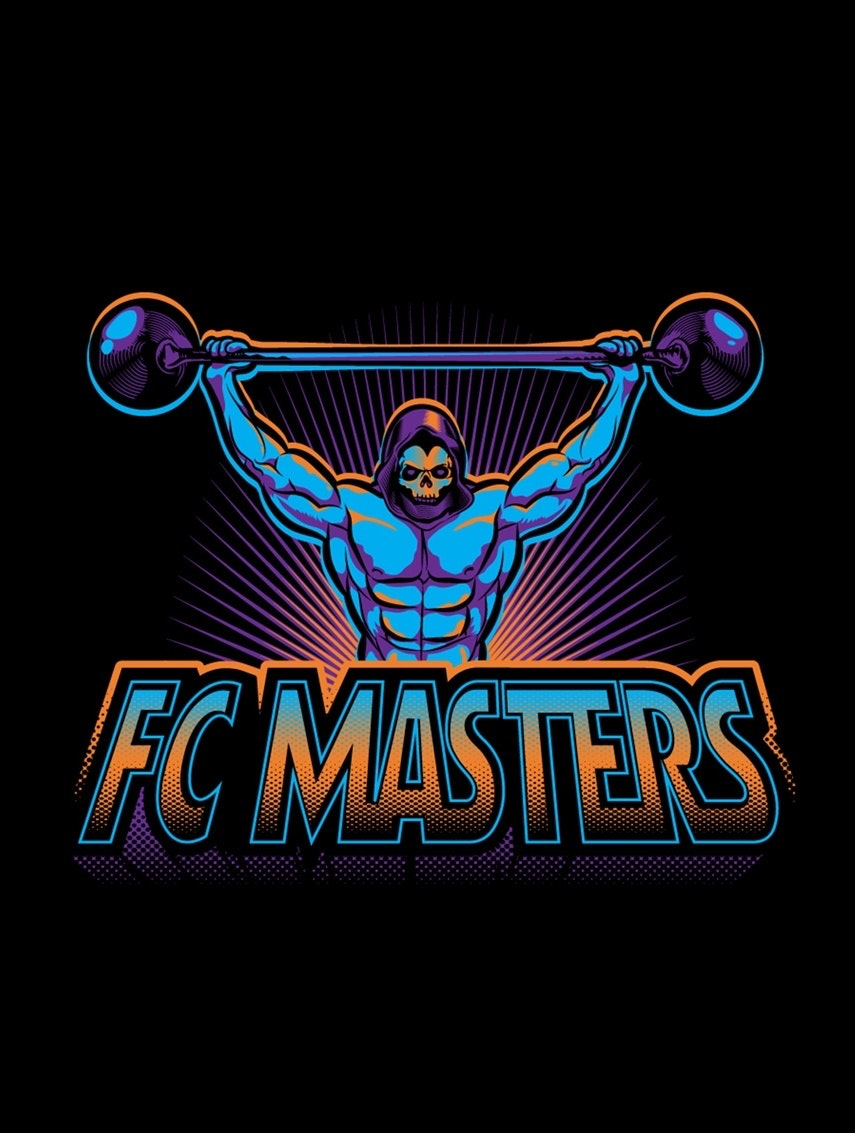 He-man 70s inspired t-shirt design