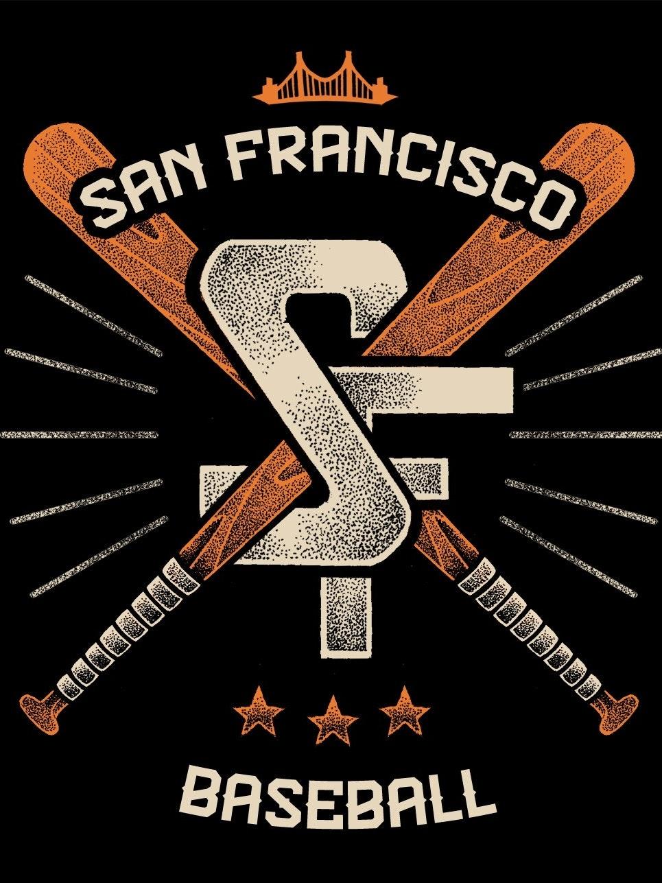 Classic badge style baseball tee
