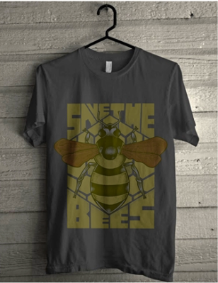 A save the bees t-shirt