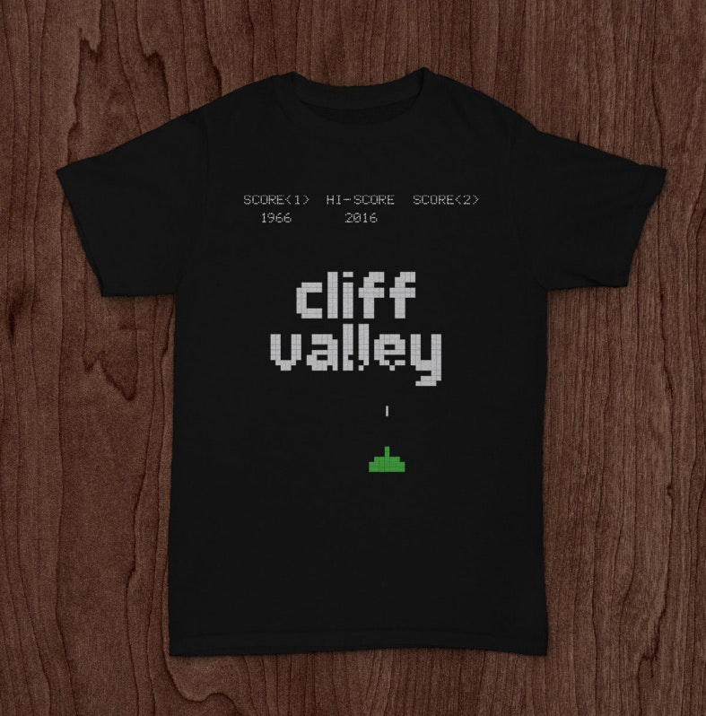 A t-shirt design project for Cliff Valley Middle School
