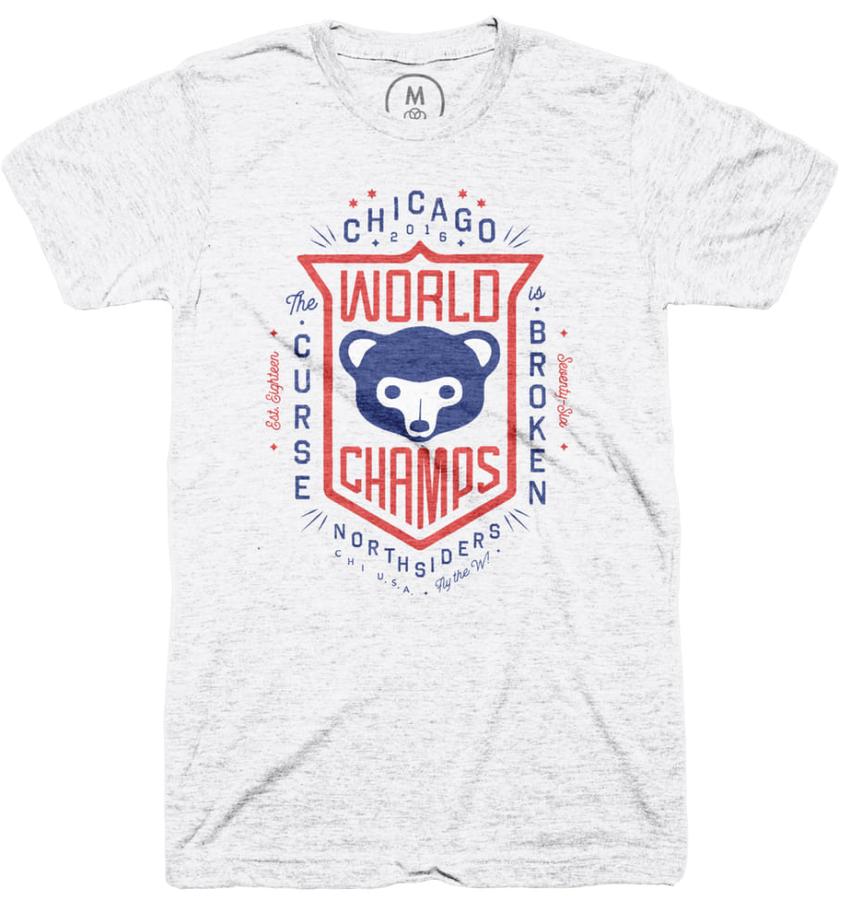 A Chicago Cubs t-shirt
