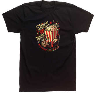 A drama club t-shirt design