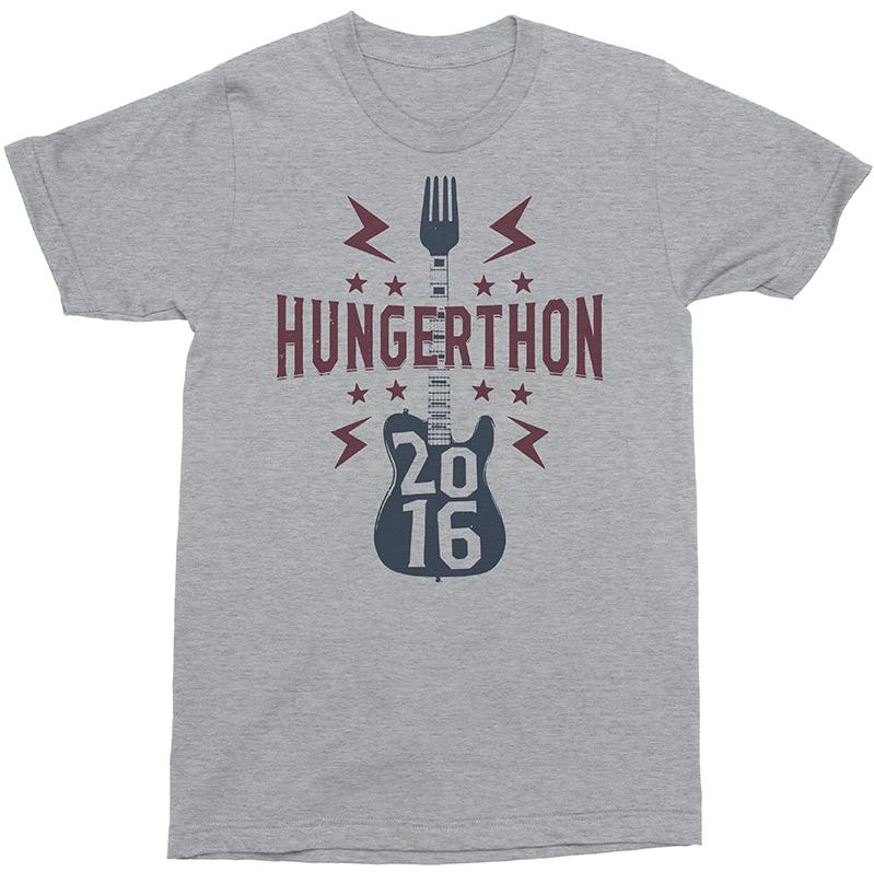 A t-shirt design for Hungerthon 2016