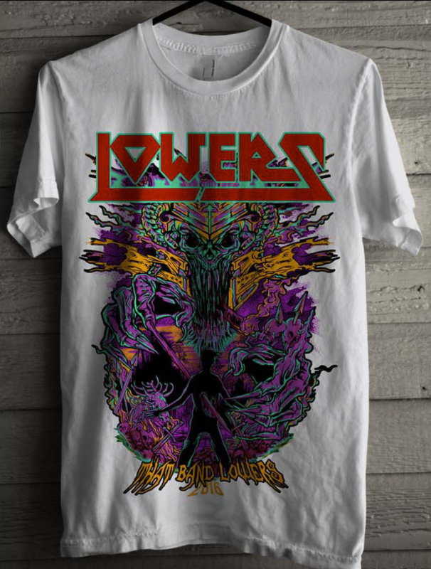 Vintage band t-shirt for Lowers