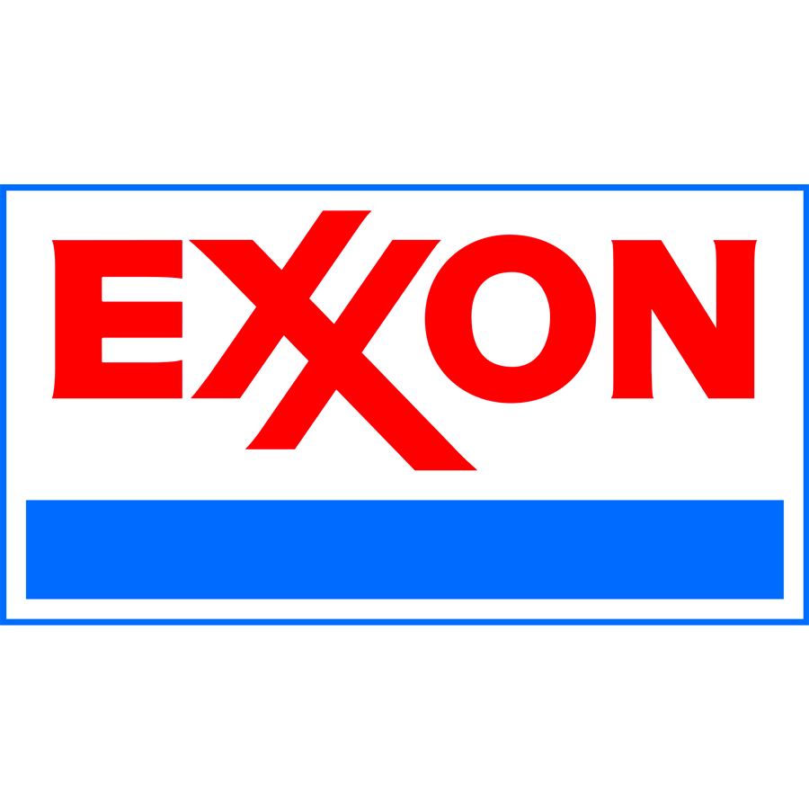 former exxon logo