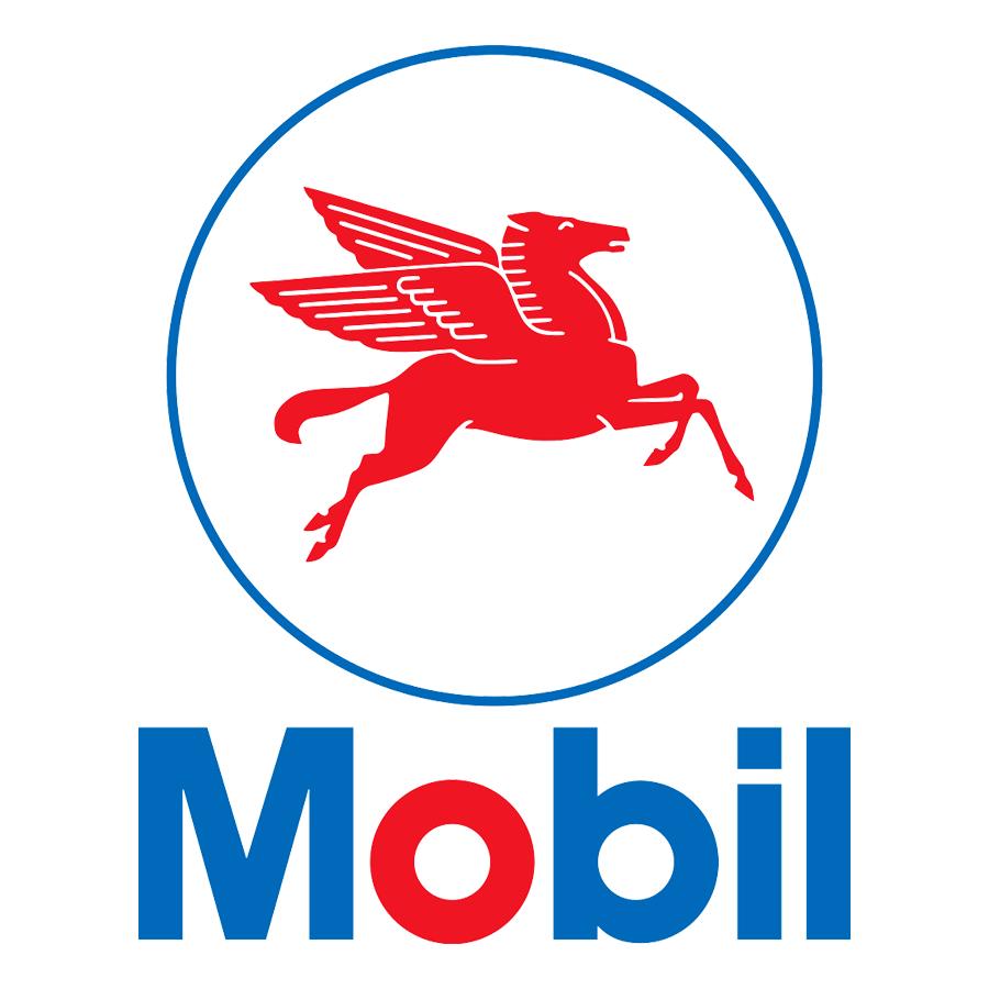 former mobil logo