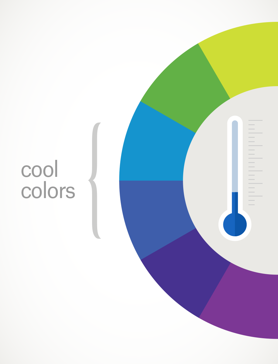 The combination of colors in the interior: the color wheel and the rules