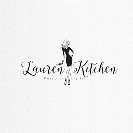 Logo Design for the Stylist Lauren Kitchen