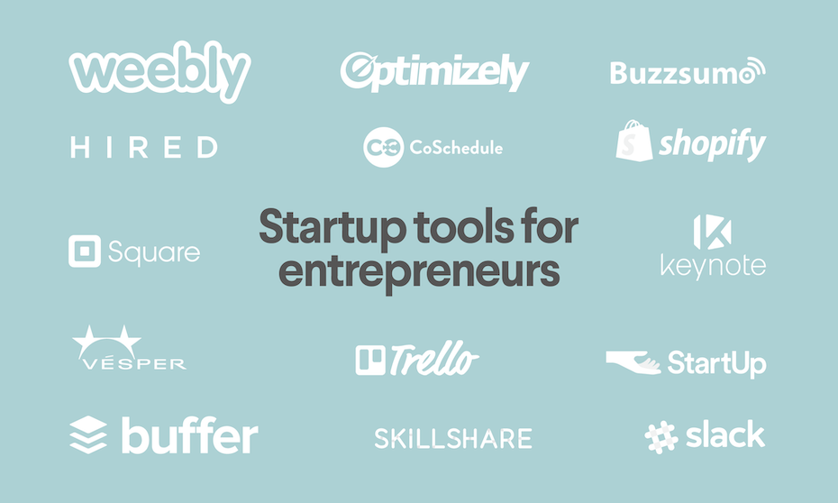 68 startup tools that entrepreneurs shouldn't live without