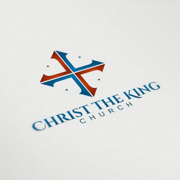logo design by delia for christ the king church