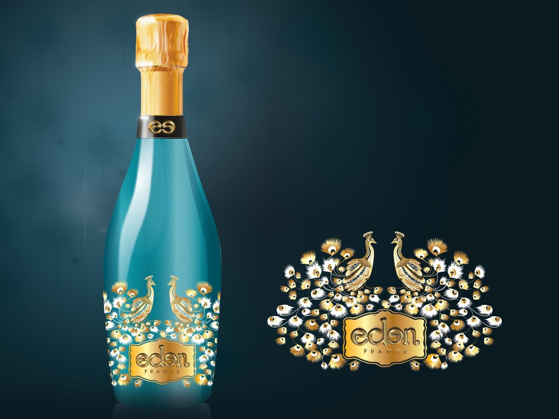 Etiquette eden France Champagne