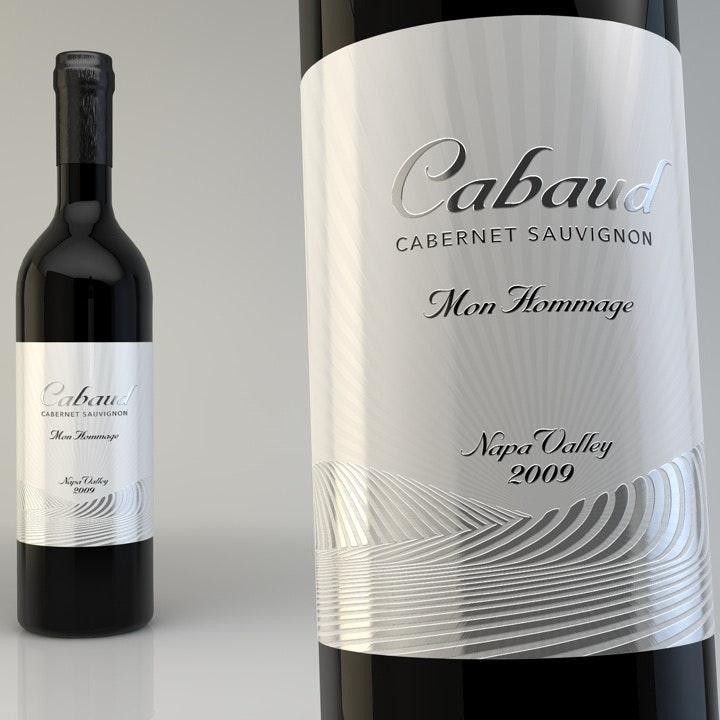 Etiquette de vin Cabaud