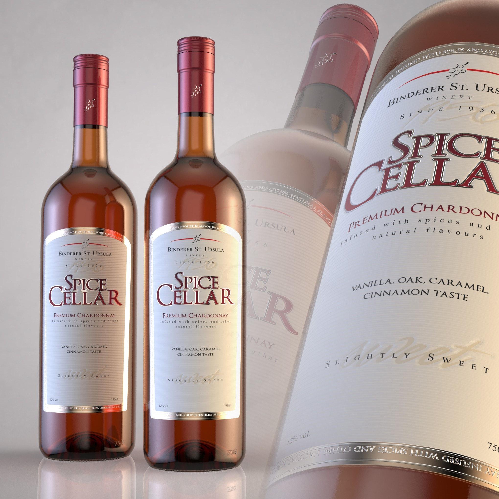 Spice Cellar Wine Label