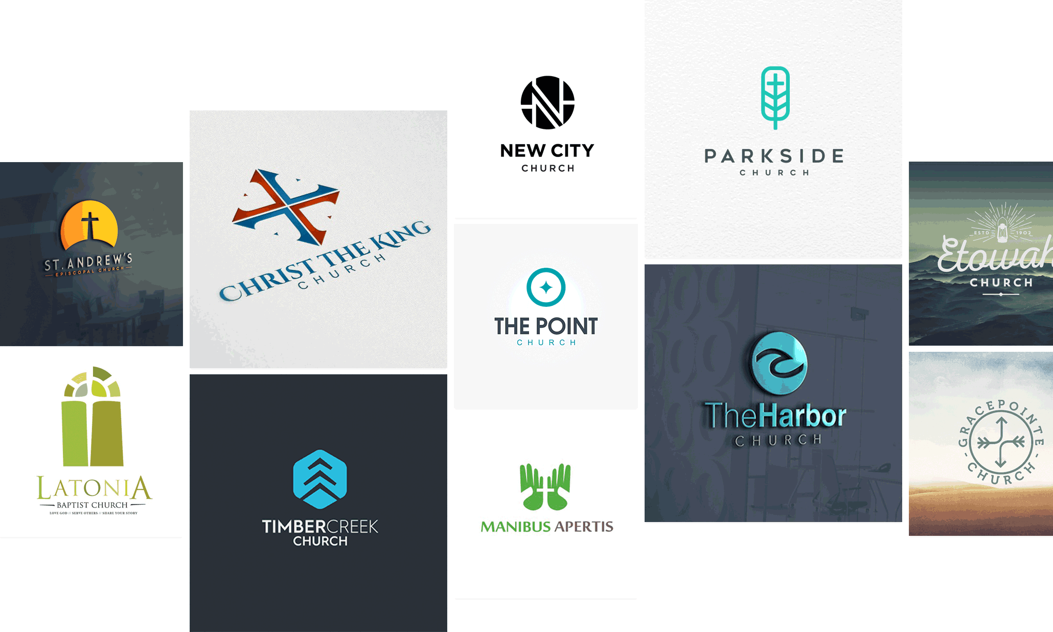44 church logos to inspire your flock