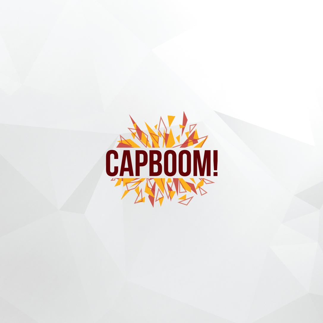 explosive geometric logo design