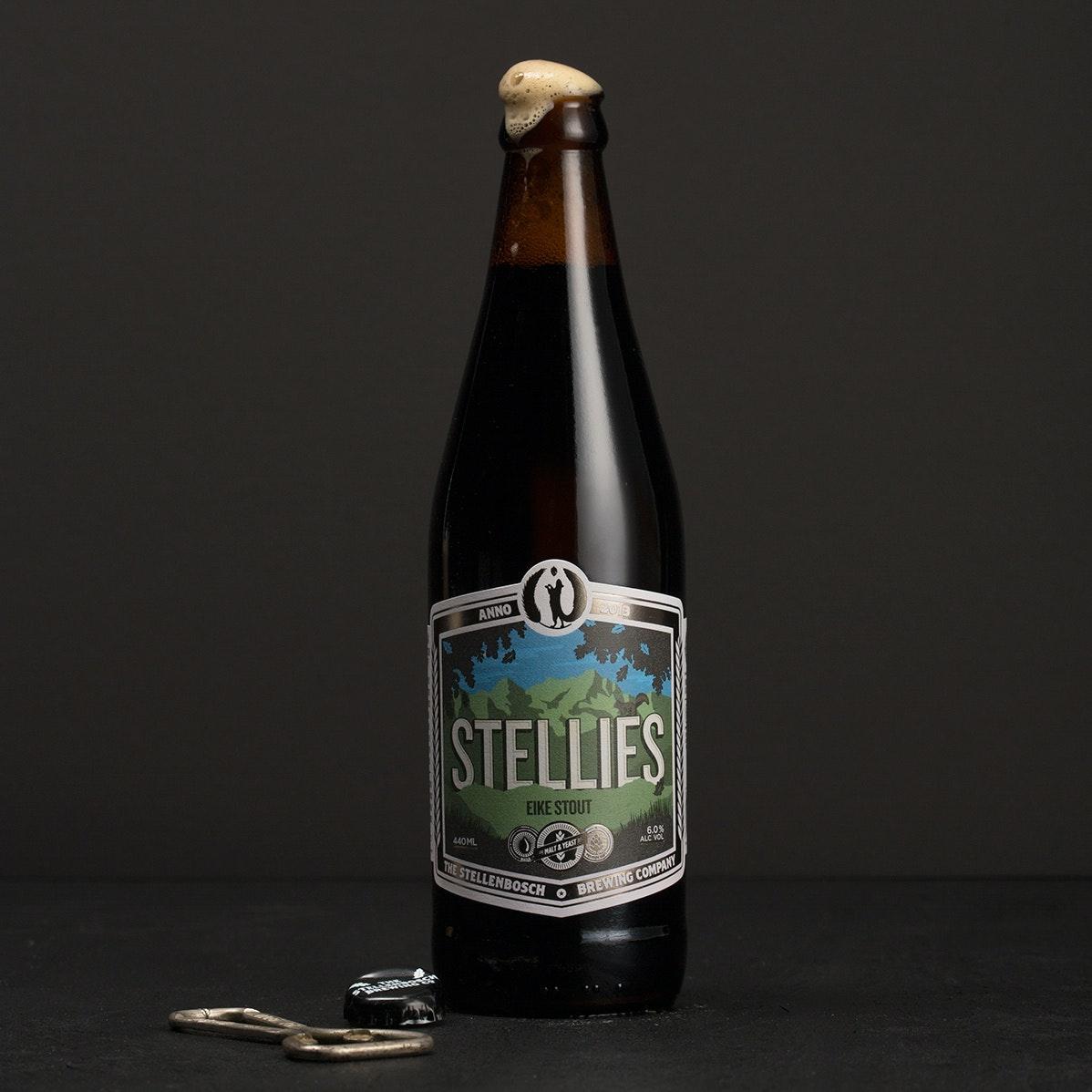 Stellie's beer label