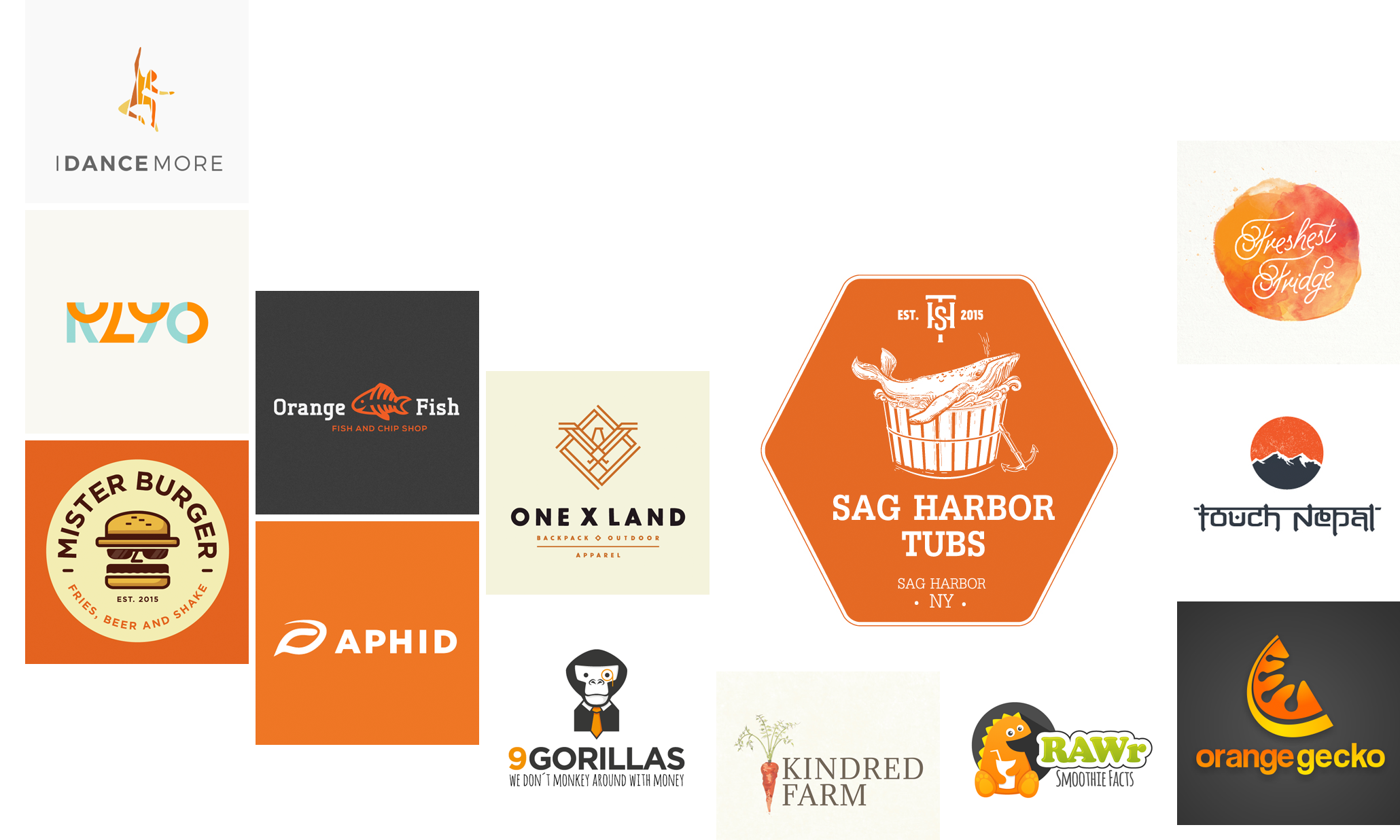 33 orange logos to inspire you