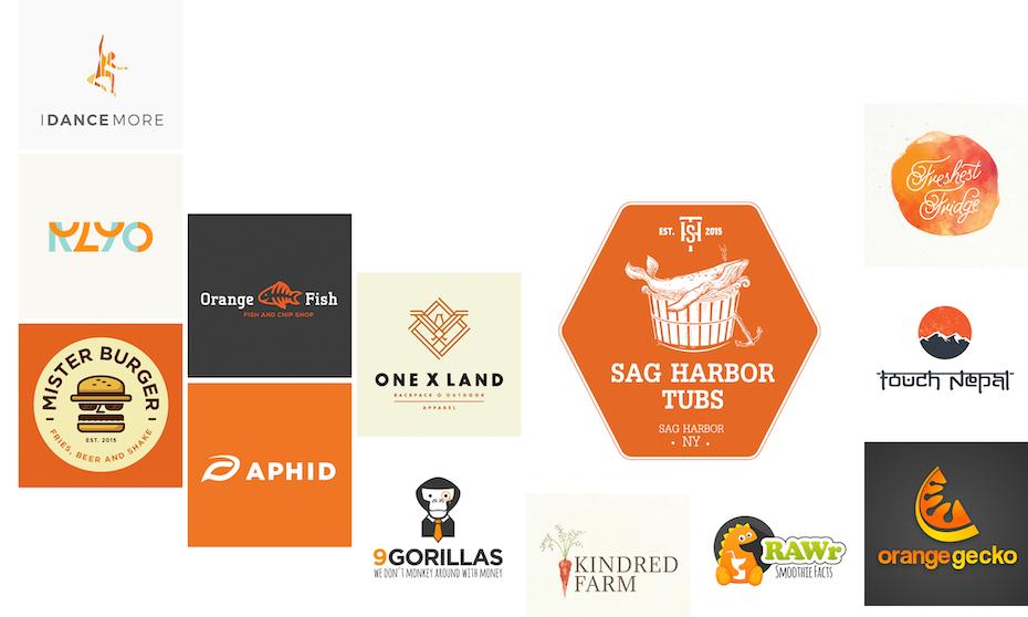 33 orange Logos, die dich inspirieren werden - 99designs