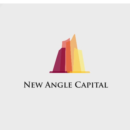 colorful angle logo design