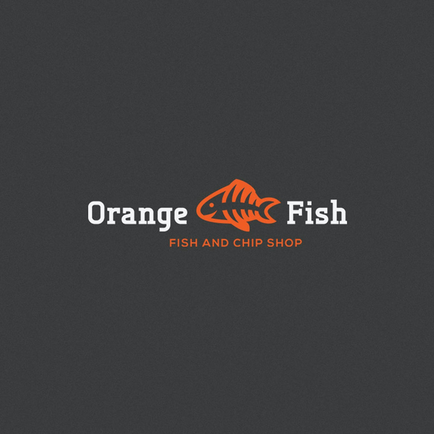 Logo with fish