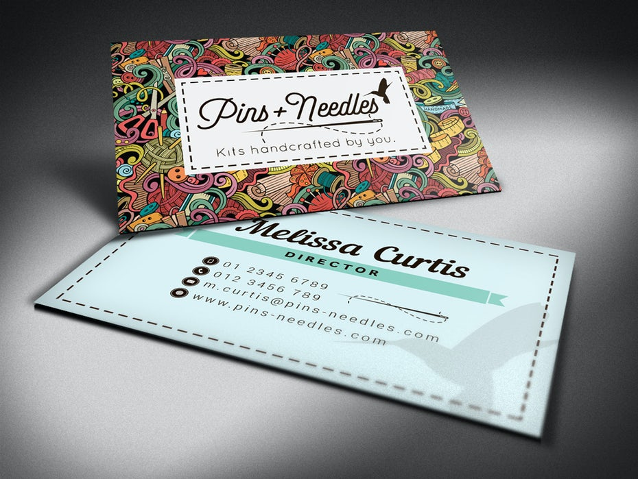 28 cool business card ideas that seal the deal 99designs business card design reheart Images