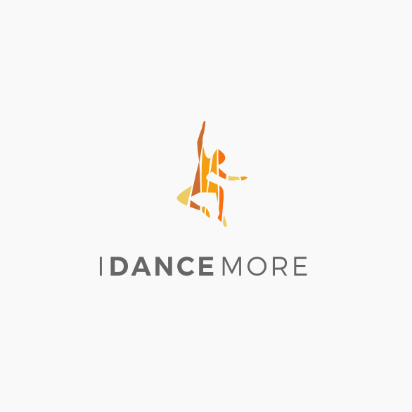 Logo with dancer