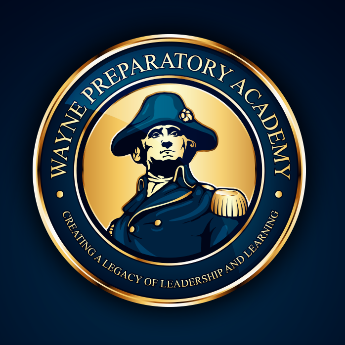 Preparatory academy logo design