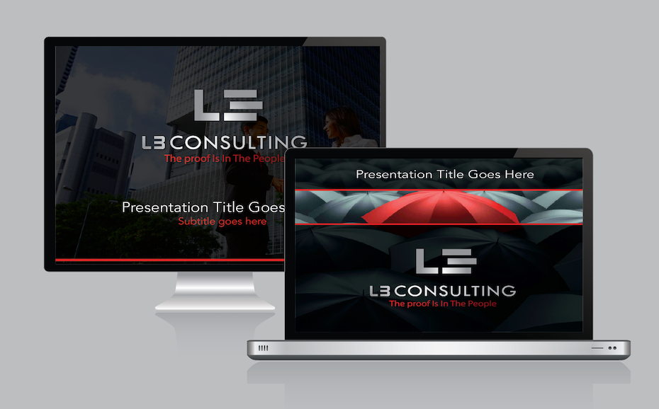 How to pick the perfect powerpoint template 99designs corporate powerpoint presentation black background red accents toneelgroepblik Images
