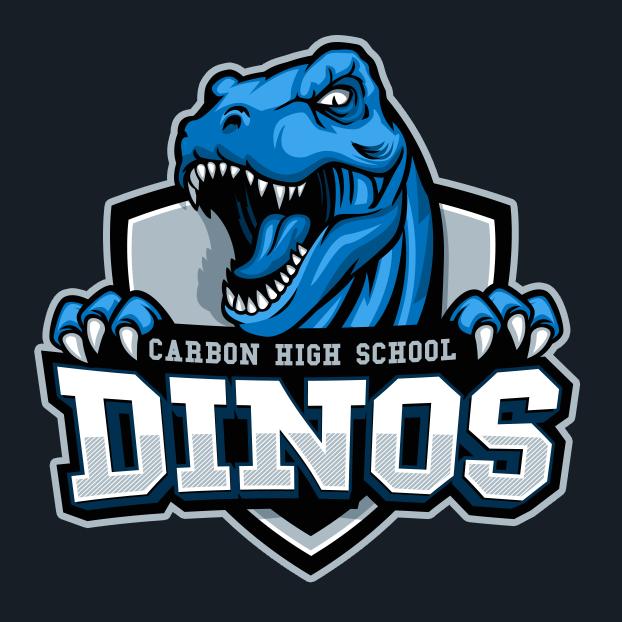 T-Rex mascot logo design
