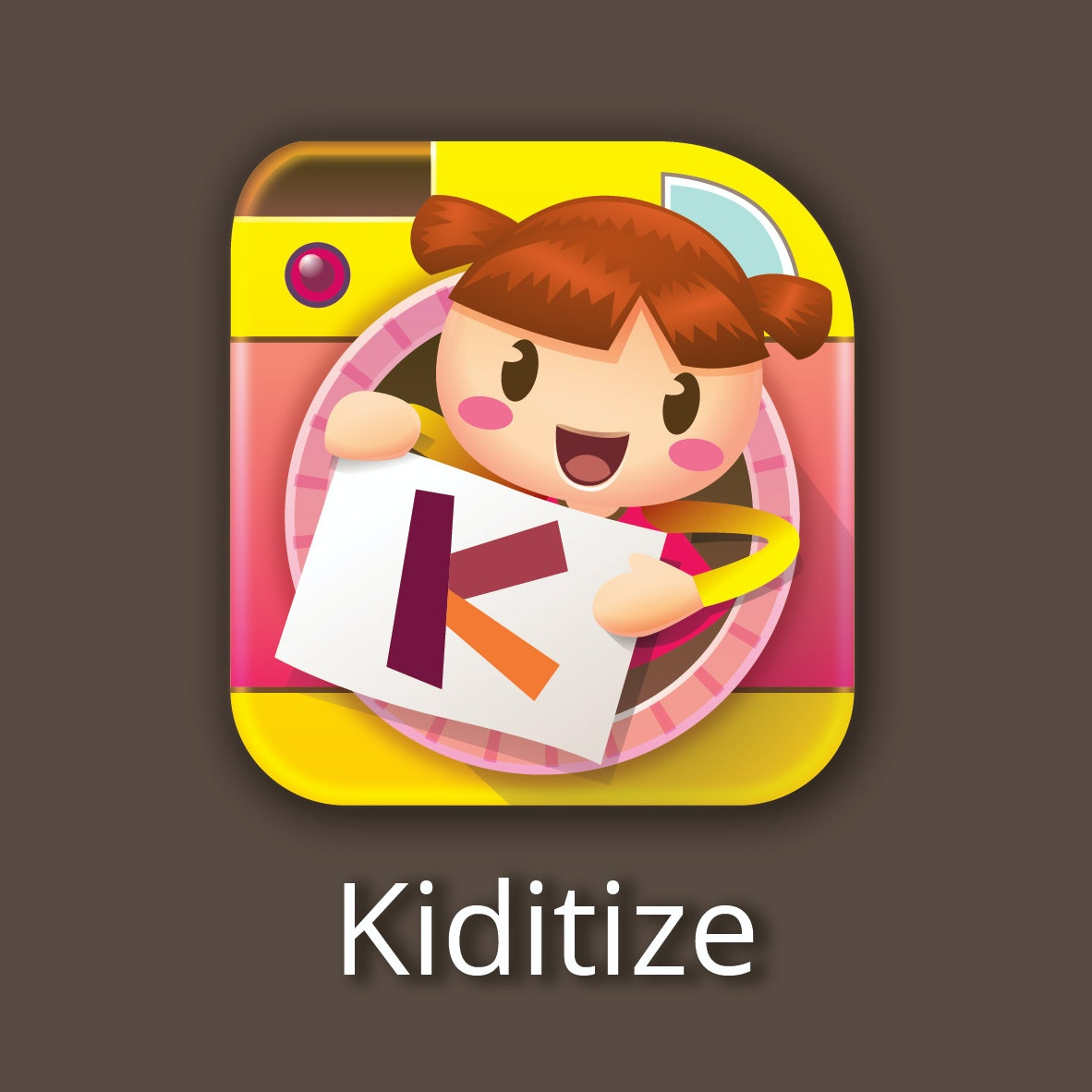 Kiditize logo design