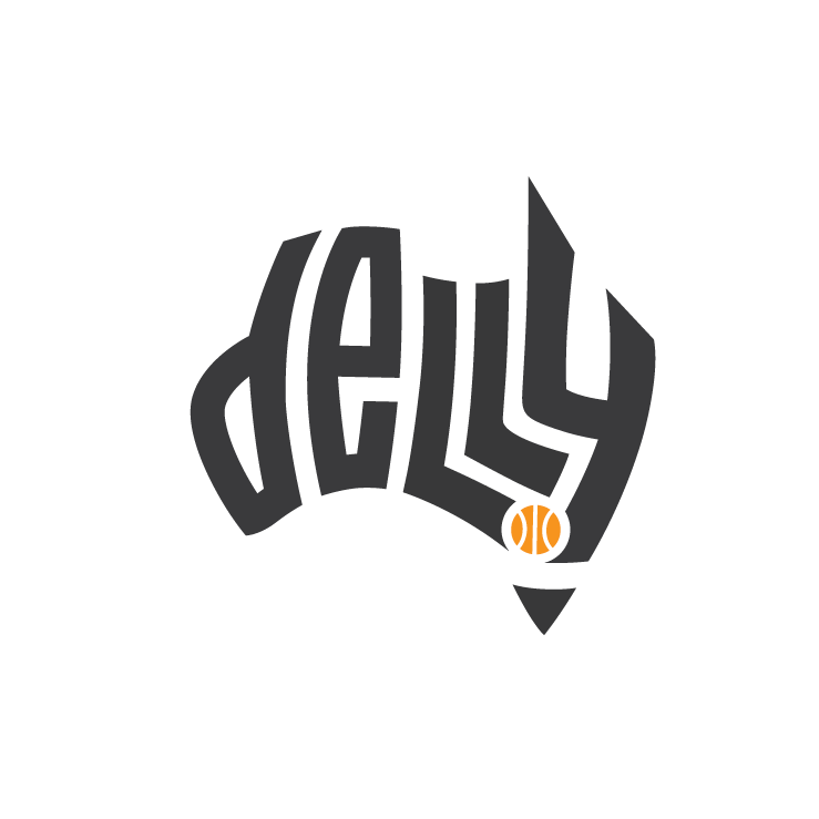 Delly logo and branding design