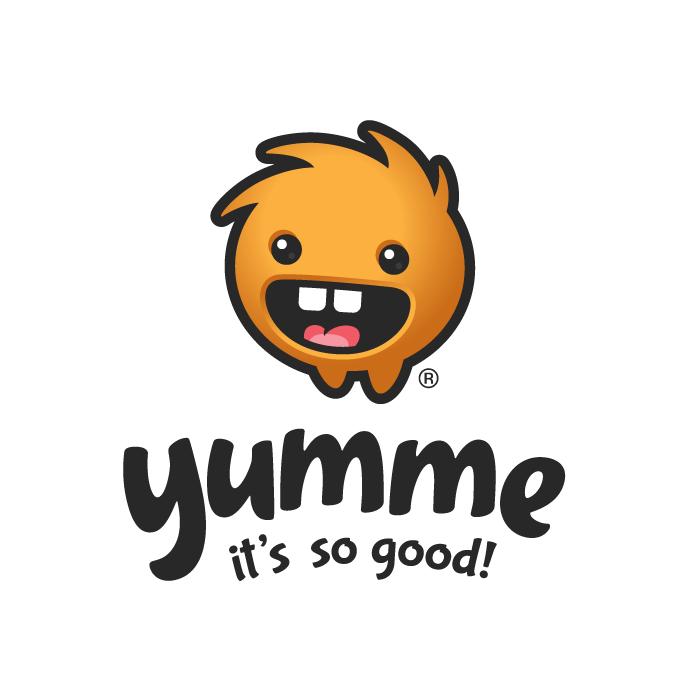 yumme logo design