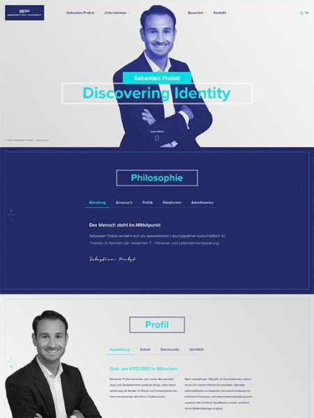 web design by studio ubique