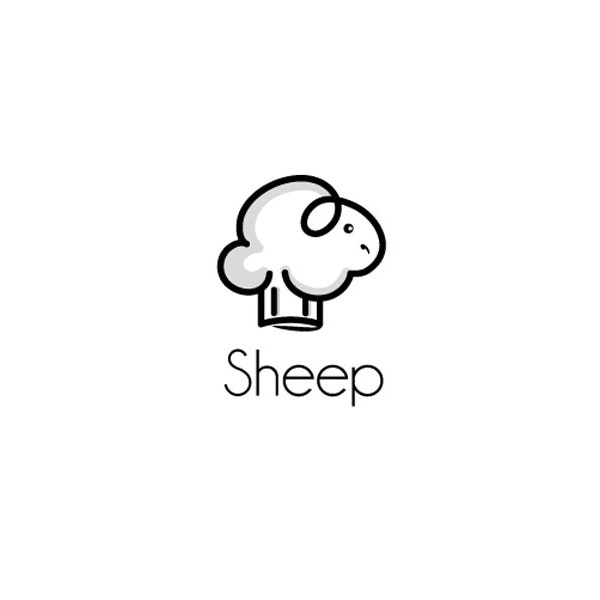Sheep logo design
