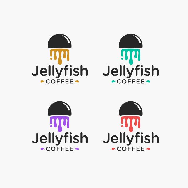 Flat art logo design