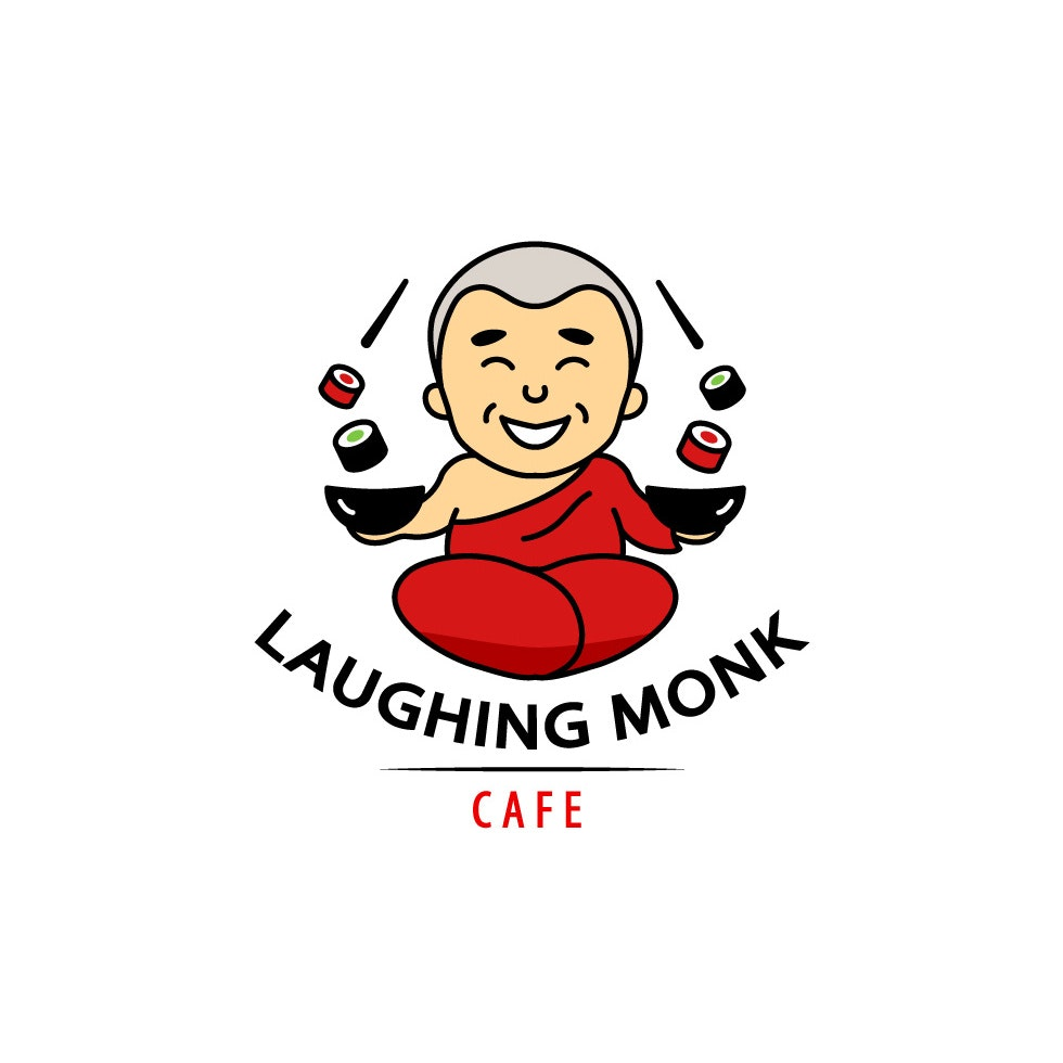laughing monk cafe design