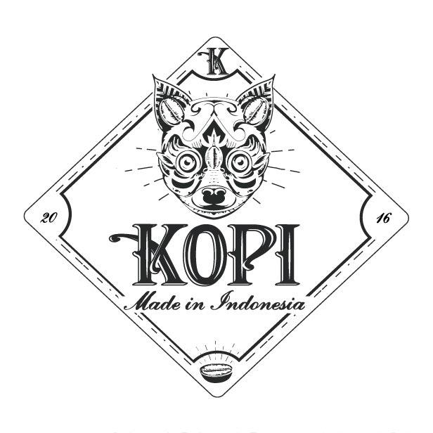 Kopi vintage logo design