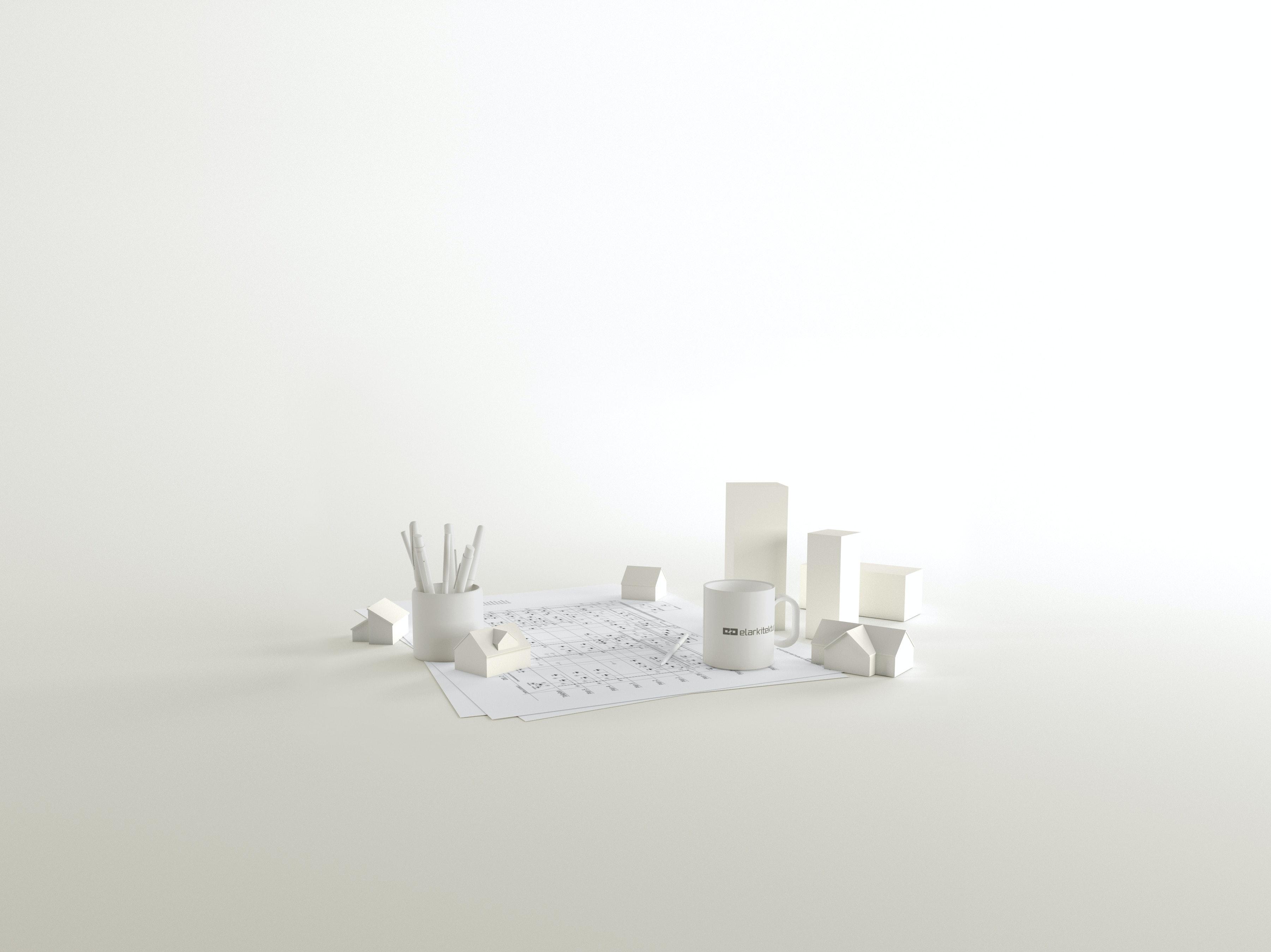 Minimalist 3D image