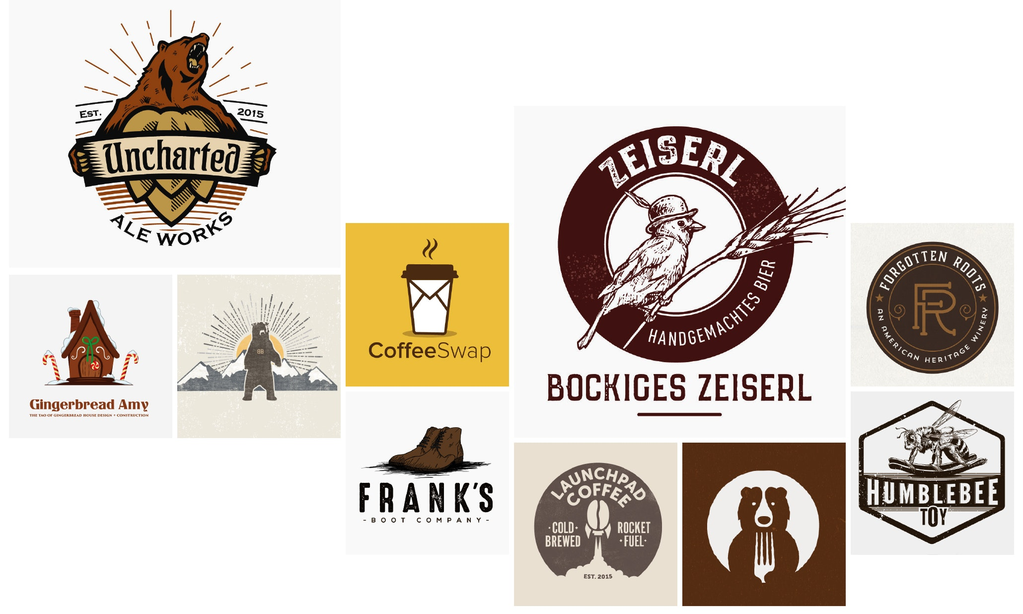 26 brown logos that you can depend on