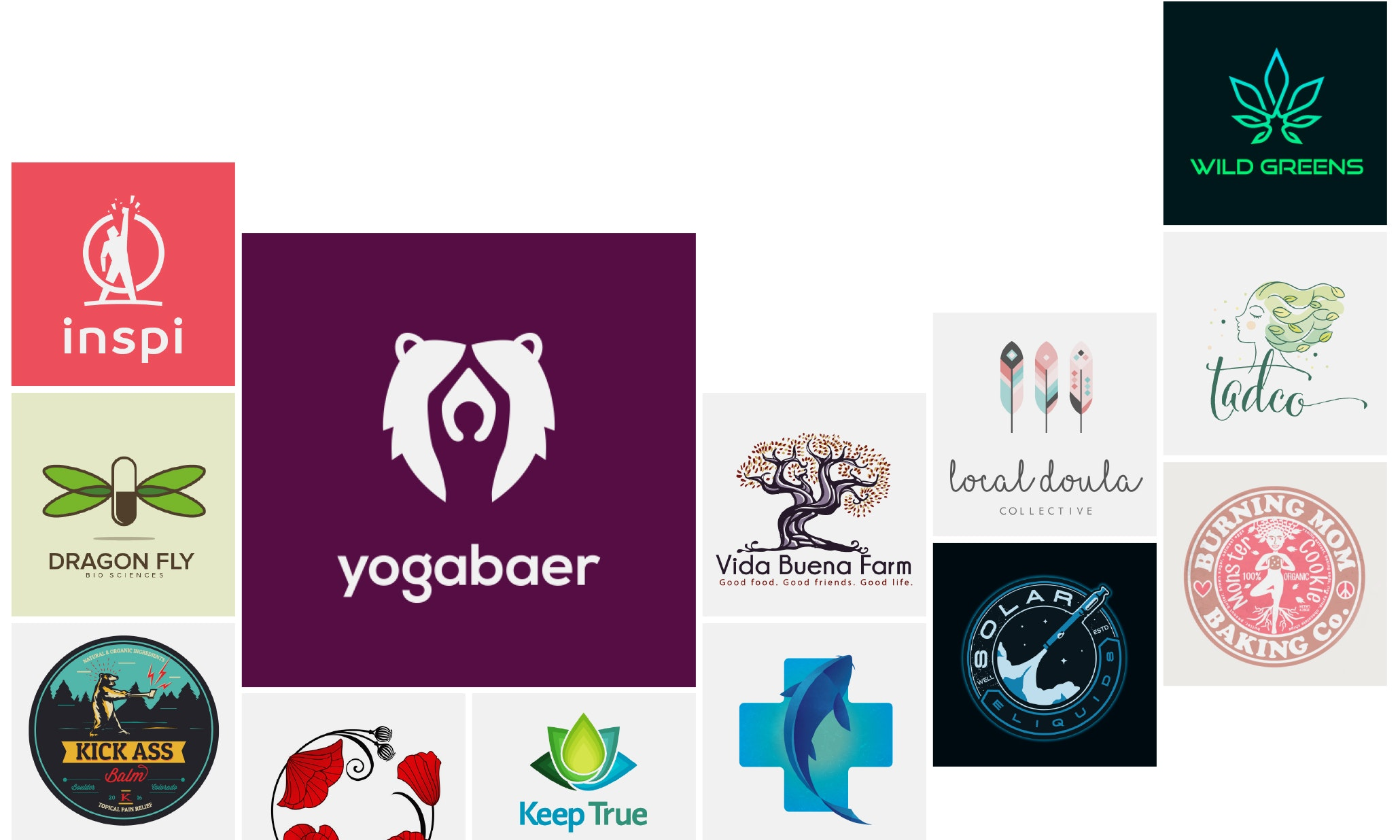Health and wellness logo trends