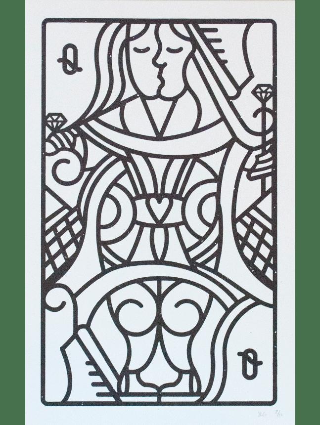 A lesbian themed Queen card design