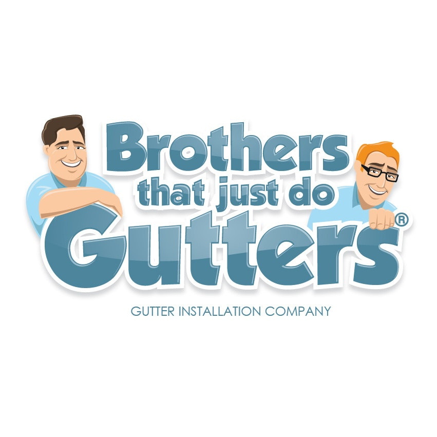 Brothers that just do Gutters redesigned logo
