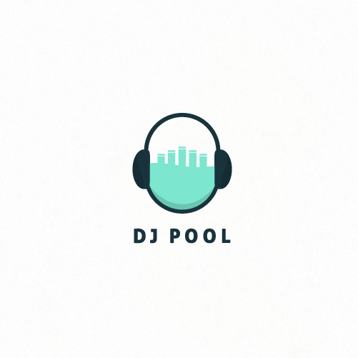 15 dj logos that raise the roof 99designs blog for Pool design logo
