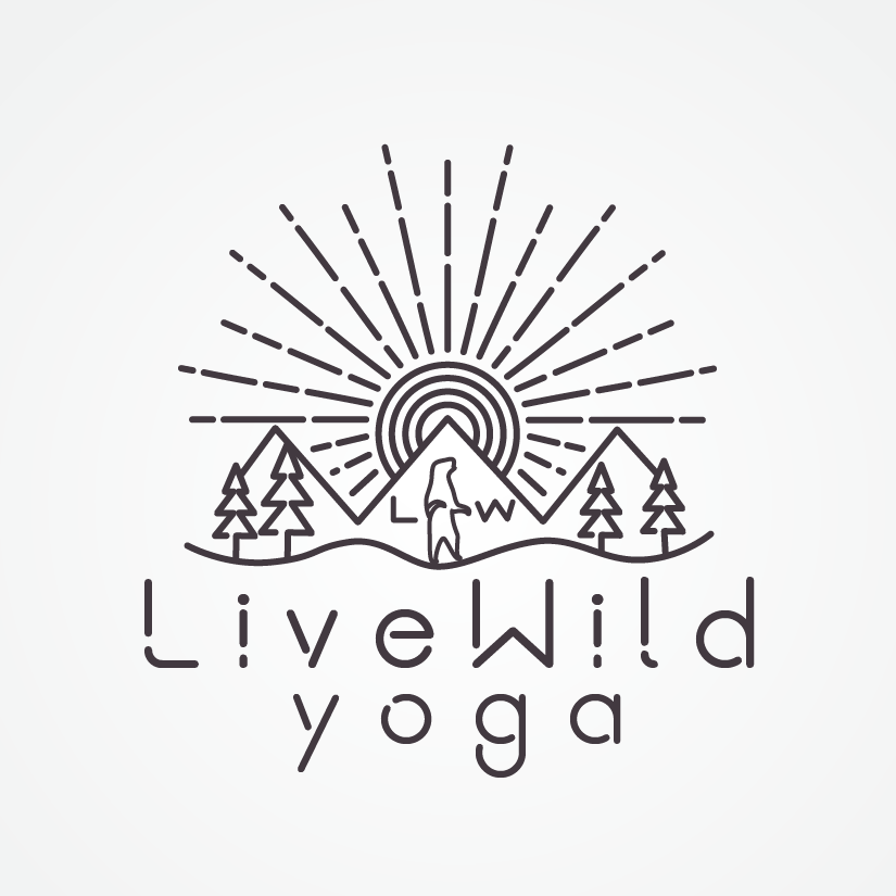 Logo design for yoga studio