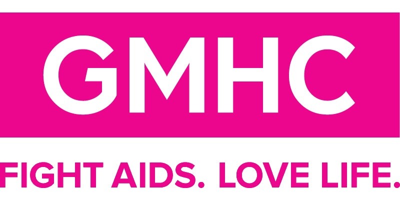 Logo for the Gay Men's Health Crisis